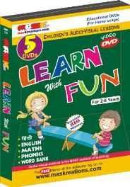 Mas Kreations Learn With Fun (5 DVD Pack) MP3 CD ? 2013