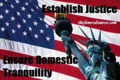 Establish Justice Ensure Domestic Tranquility