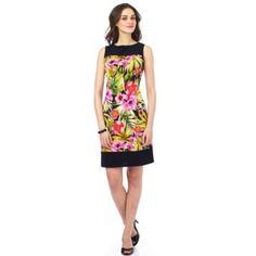 JESSICA®/MD Women's Print Wedge Dress - Sears   Sears Canada