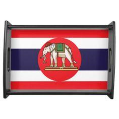 Thai flag Serving Tray