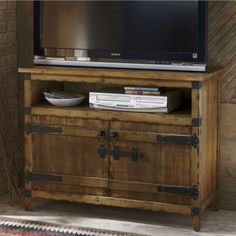 Rustic Media Console from Through the Country Door®
