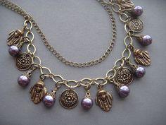 Art Nouveau Necklace  Art Nouveau Jewelry  by SilverTrumpetJewelry, $65.00
