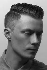 Dapper men's haircut