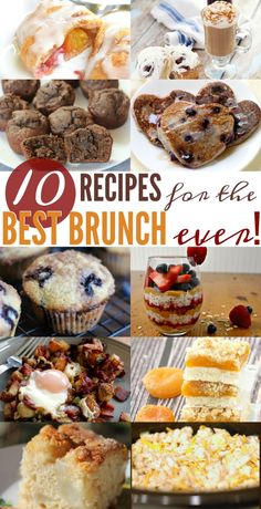 10 Delicious Recipes perfect for your next brunch!