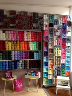 Miniature yarn shop Z<br>