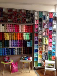 Miniature yarn shop