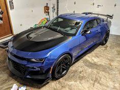 Blue Camaro, Camaro Zl1, Chevrolet Camaro, West Virginia, Corvettes, Vehicles, Muscle, Horses, Content