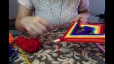 Mandala: dos Triángulos, Huichol Puntas de Flecha