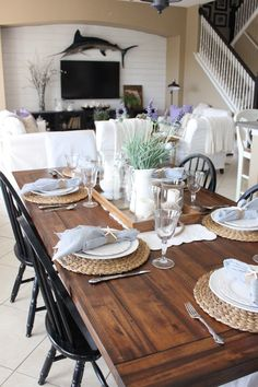 During the month of May of 2016, lavender accents filled the cottage, here are some photos: