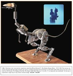 Inner armature for Taun Taun puppet: Empire Strikes Back.
