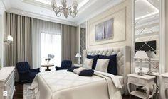 Sypialnia w stylu nowojorskim. http://domomator.pl/sypialnia-w-stylu-nowojorskim/