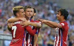 Por la mínima el @atleticomadrid superó al recién ascendido UD Las Palmas #9ine