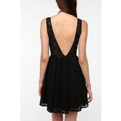 Urban Outfitters Pins And Needles Lace Cutout Back