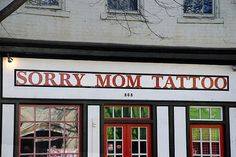 A perfect name for a tattoo parlour!