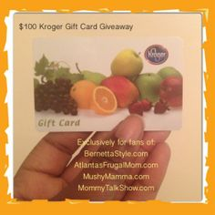 Find Organic, Local and Natural Foods at Kroger + $100 Gift Card Giveaway ~ MommyTalkShow.com