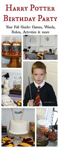 Harry Potter Birthday Party!