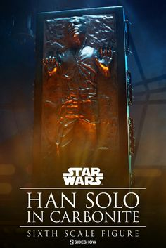 Han SOLO | Carbonite | Figure | STAR WARS | Episode V : The Empire Strikes Back | Sideshow Collectibles Figures