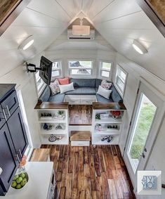 Interiors of tiny houses by modern tiny living tiny living interior tiny house on wheels . Tiny House Living, Small Living, Modern Living, Modern Teen Room, Two Bedroom Tiny House, Cottage Bedrooms, Bedroom Small, Small Rooms, Tiny House Storage