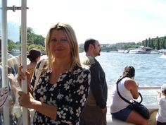 Sightseeing on river Seine, Paris France