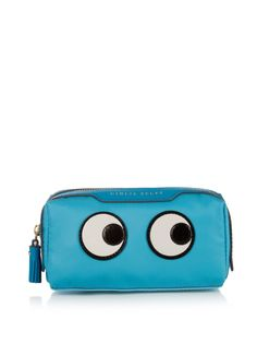 Girlie Stuff Eyes make-up bag by Anya Hindmarch | Shop now at #MATCHESFASHION.COM