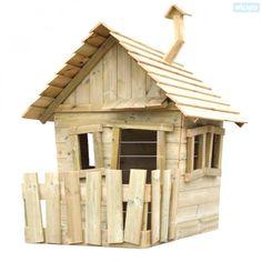 Houten speelhuisje Wickey`s Villa voor in de tuin 503300