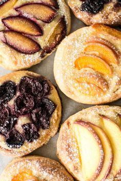 Stone Fruit Brioche Tartlets – butter and brioche