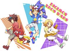 Digimon Xros Wars Hunter (Episode 1 - 25 END) Subtitle Indonesia - Anime-SubIndo All Cartoon Characters, Fictional Characters, Digimon Fusion, Hunter Games, Digimon Frontier, Digimon Tamers, Digimon Digital Monsters, Fanart, Cute Art Styles