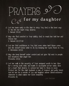 5 Prayers for My Daughter By Lysa Terkeurst by AFiskie
