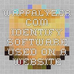 wappalyzer.com - identify software used on a website List Of Websites, Create List, Periodic Table, Software, Technology, Tech, Periodic Table Chart, Periotic Table, Tecnologia