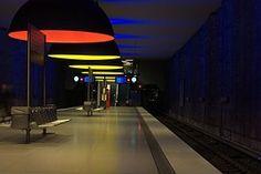 U-bahn, #München #munich