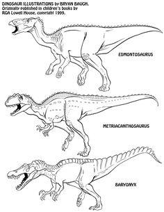 Dinosaurs 14 by BryanBaugh on DeviantArt