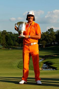 Rickie Fowler - 2012 Wells Fargo Champion @ Quail Hollow (1st PGA Tour Win of Career in 3-way playoff)