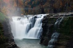Upper Falls of the Genesee, New York