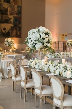 An All White Wedding That\'s Truly Timeless | Pinterest | Event ...