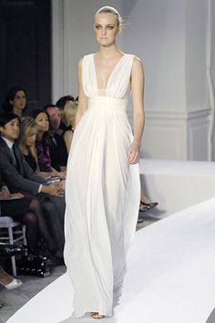 Oscar De La Renta Greek Dress