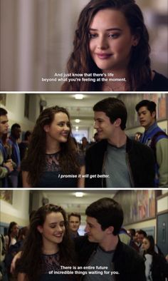 """""""And if you go, you won't get to see it."""" - Katherine Langford 