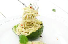 Avocado spaghetti   The Vegan Society
