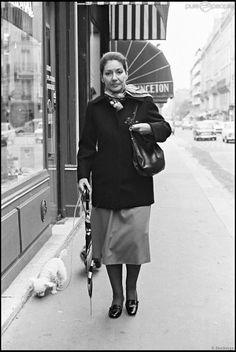Ana María Cecilia Sofía Kalogeropoúlou. Madame Callas. Most uncommon picture ever seen.