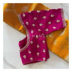 New Saree Blouse Designs, Kids Blouse Designs, Hand Work Blouse Design, Simple Blouse Designs, Stylish Blouse Design, Traditional Blouse Designs, Traditional Outfits, Maggam Work Designs, Designer Blouse Patterns