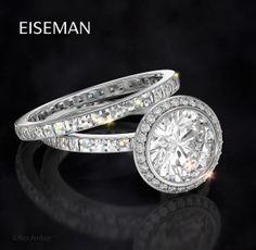 The Perfect Cut | Engagement Ring | Wedding | Bride | Eiseman Bridal