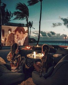 Head to the Maldives for an Outdoor Cinema Experience Lonely Planet, Cinema Experience, Cap Vert, Outdoor Cinema, Good Vibe, Excursion, Paradise Island, Wanderlust Travel, Strand