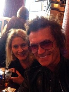 The Hughes' at lunch in San Francisco ~ October 25th, 2014