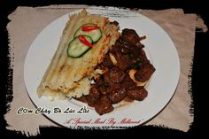 A very popular & well liked Vietnamese beef dish from Special Meals By Millicent