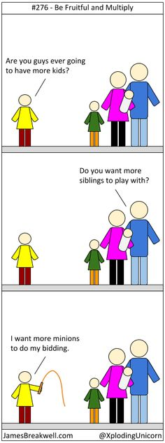 James Breakwell's Unbelievably Bad Webcomic: Be Fruitful and Multiply