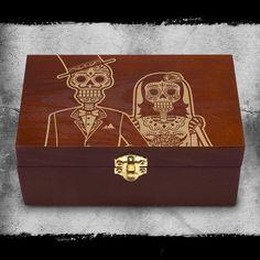 #WB2005 Bride & Groom Dia de los Muertos