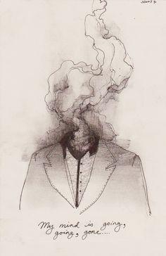 art inspo So You Think You Understand Shakespeare Art Inspo, Kunst Inspo, Inspiration Art, Smoke Drawing, Fly Drawing, Brain Drawing, Brain Art, Smoke Art, Drawing Prompt