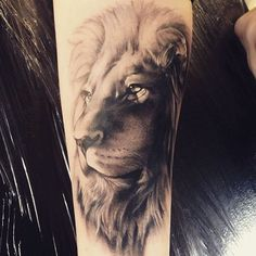 Lion tattoo i did on tonight's #tattoofixers