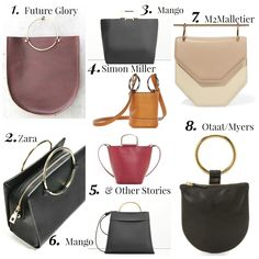 Wear to Look: The one with Metal Handle Bags on www.anywearandeverywear.com now