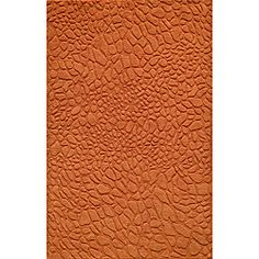 "Loft Stones Tangerine Hand-Loomed Wool Rug (7'6"" x 9'6"") 