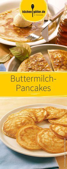 Buttermilch wird in Amerika gerne in den Pancake-Teig gegeben - das macht die Frühstücks-Küchlein so richtig fluffig und locker.